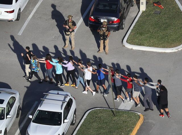 Photos: Mass shooting at school in Parkland, Florida