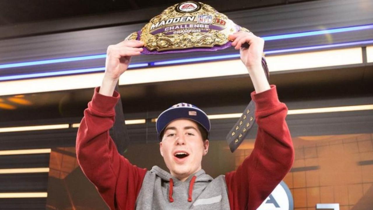 Christian Lomenzo wins EA Madden NFL 19 Challenge