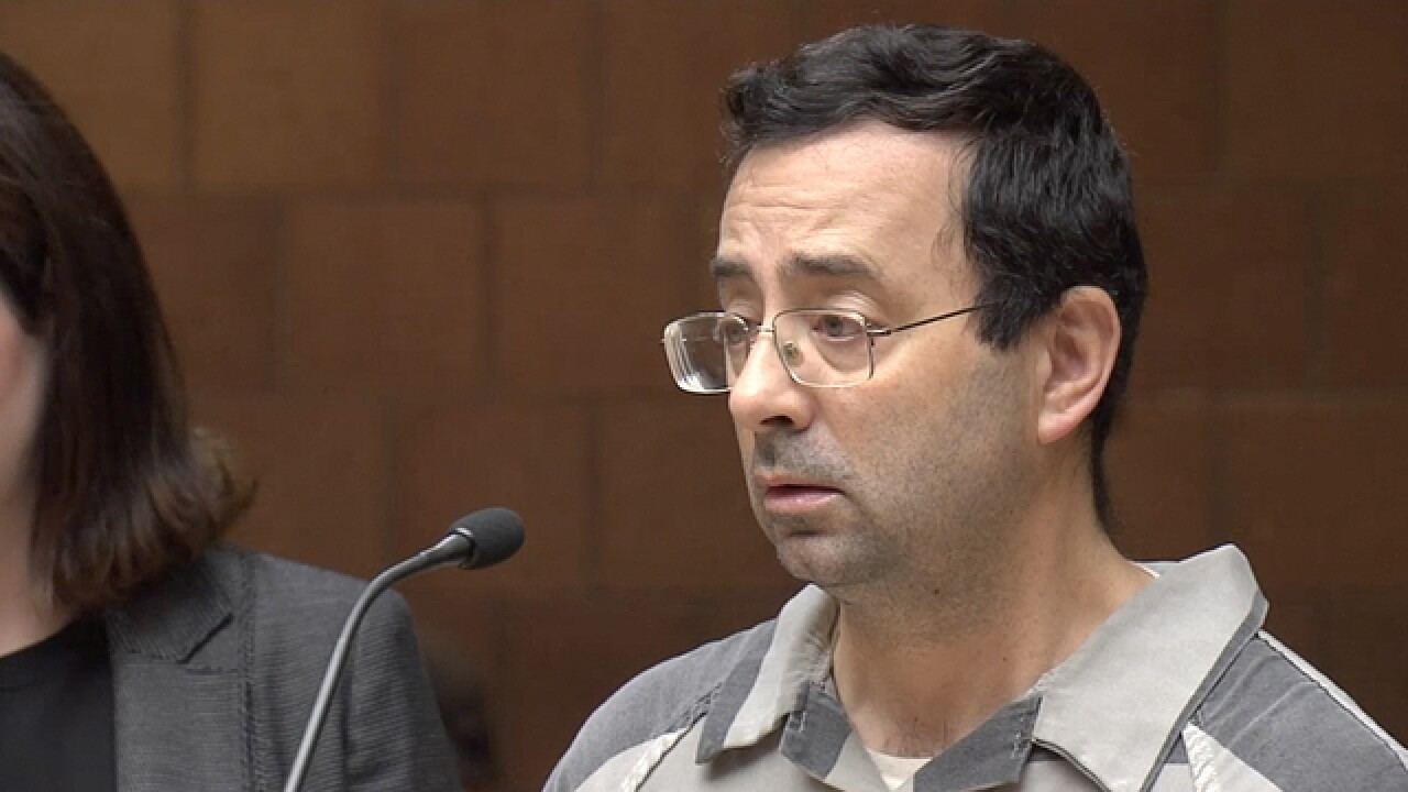 Source: Nassar to plead guilty to sex charges