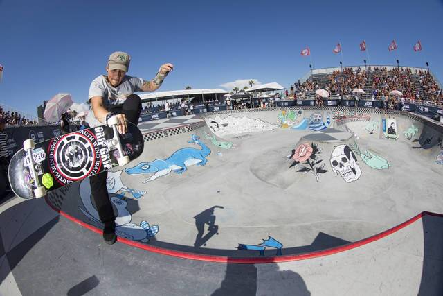 VANS PARK SERIES - HUNTINGTON BEACH, CALIF. (WOMENS' FINAL)