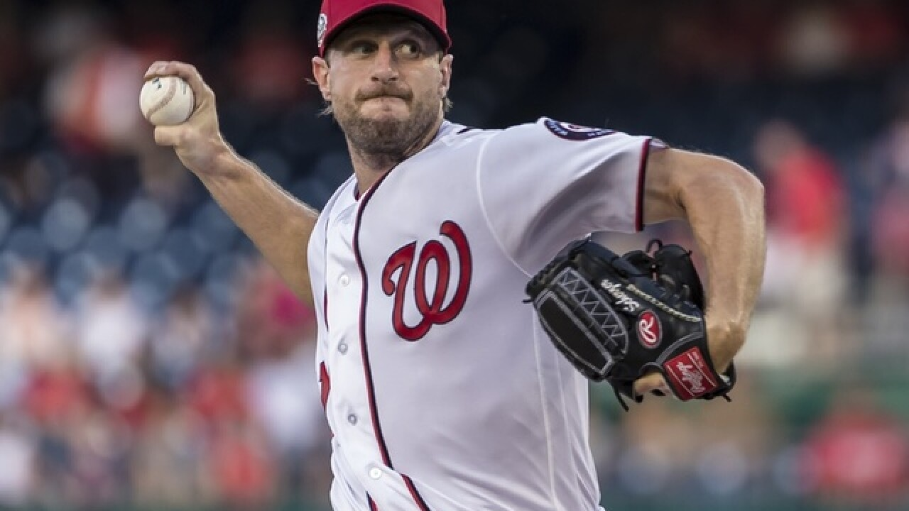 Scherzer fans 10, Nationals cruise to 10-4 win over Reds