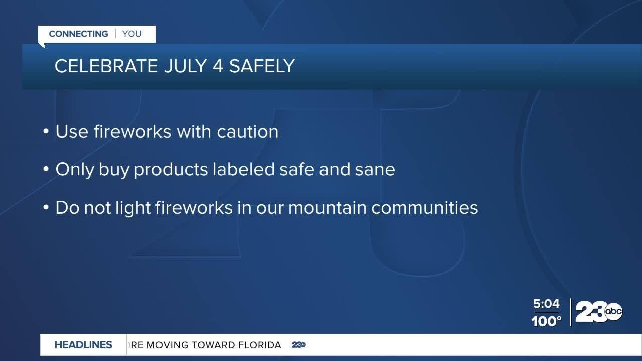 Celebrate July 4th Safely
