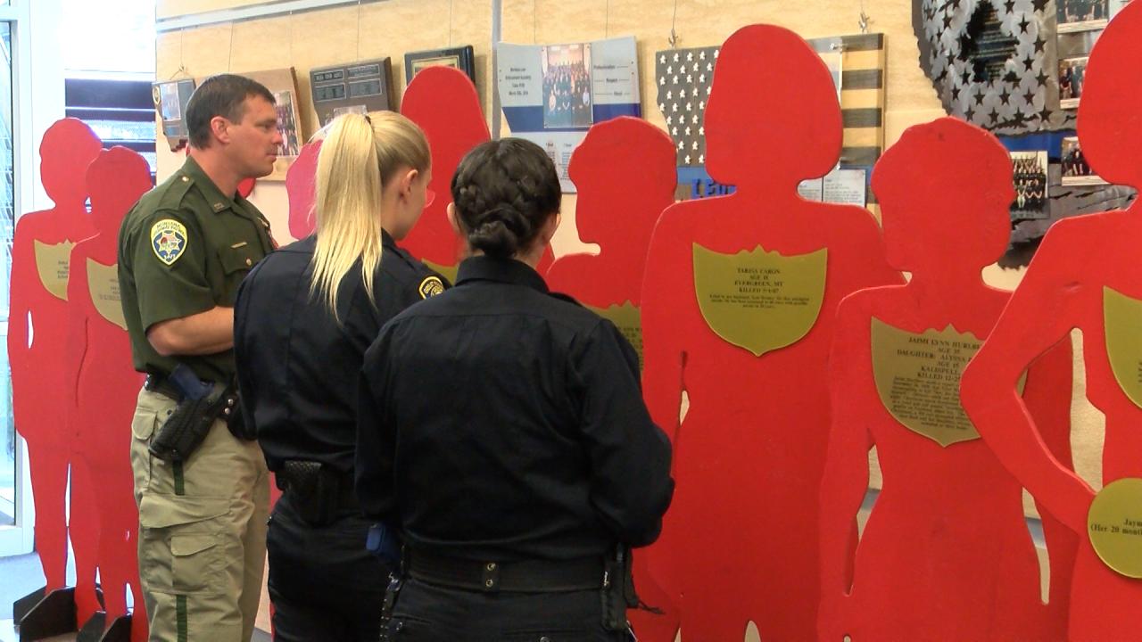 MLEA hosts Silent Witness Exhibit
