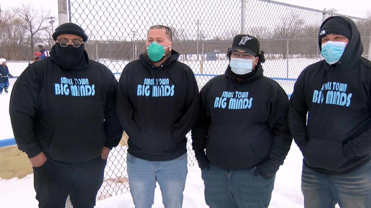 The group Small Town Big Minds is on a mission to change their community