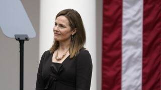 Confirmation hearings on Amy Coney Barrett will begin week of Oct. 12, AP reports