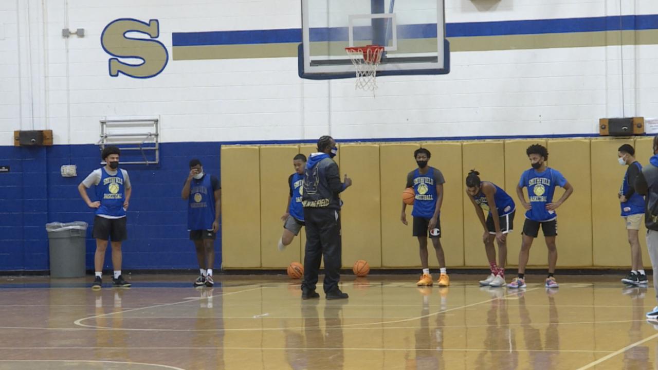 Smithfield boys basketball