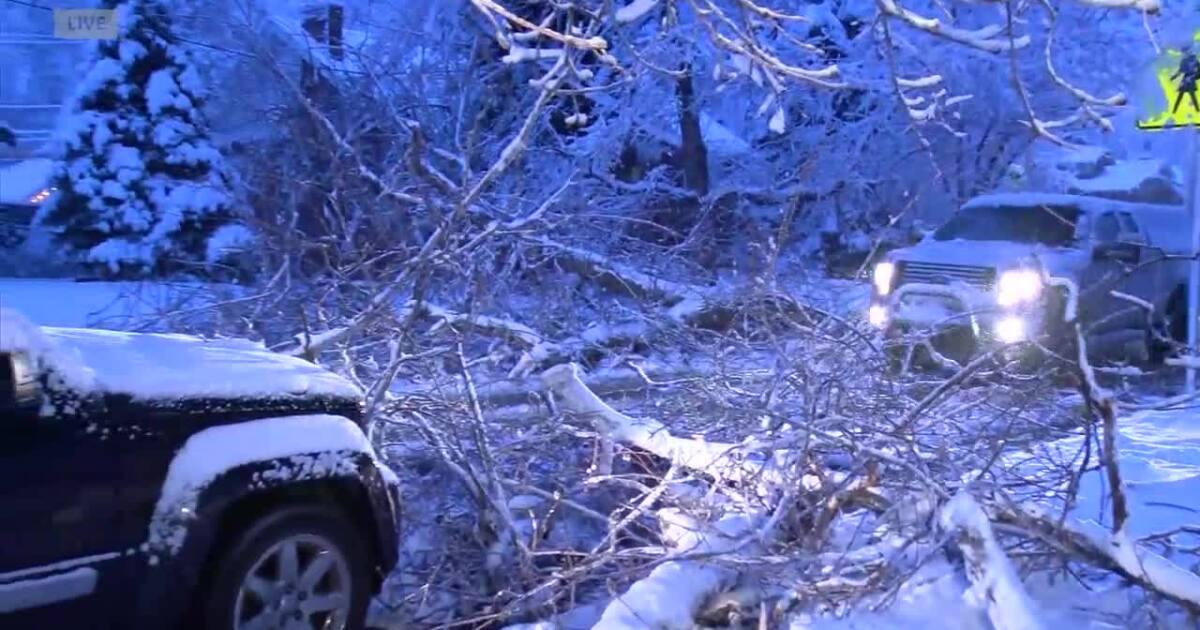Slushy, icy roads lead to closures, crashes around Colorado Friday