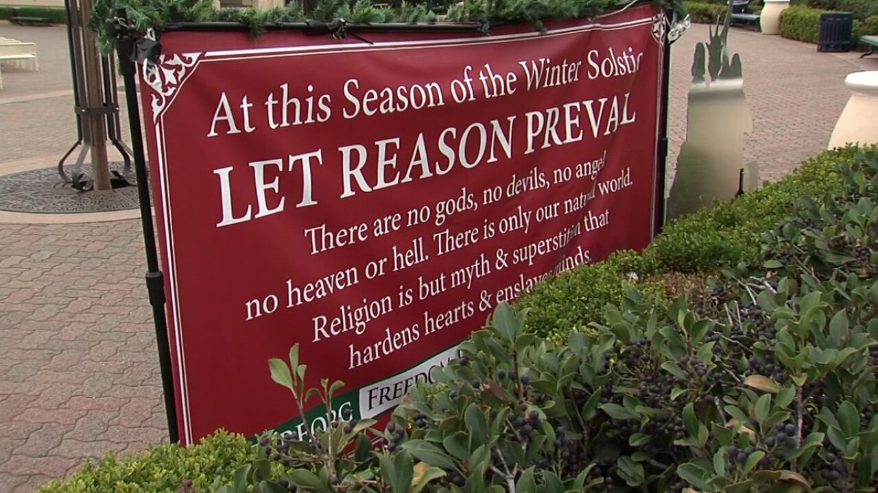 Freedom From Religion Foundation Sign 2