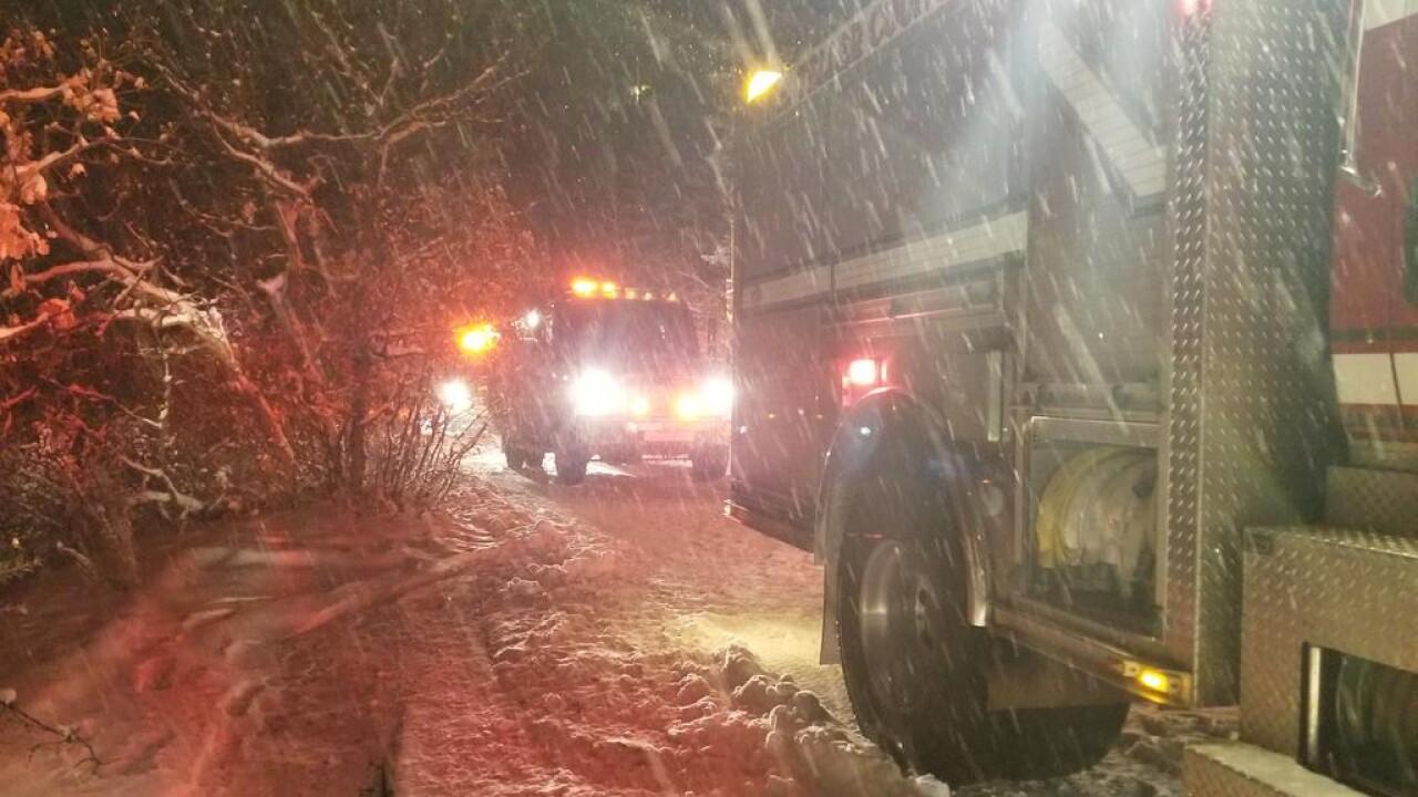 Green Mountain Falls Fire