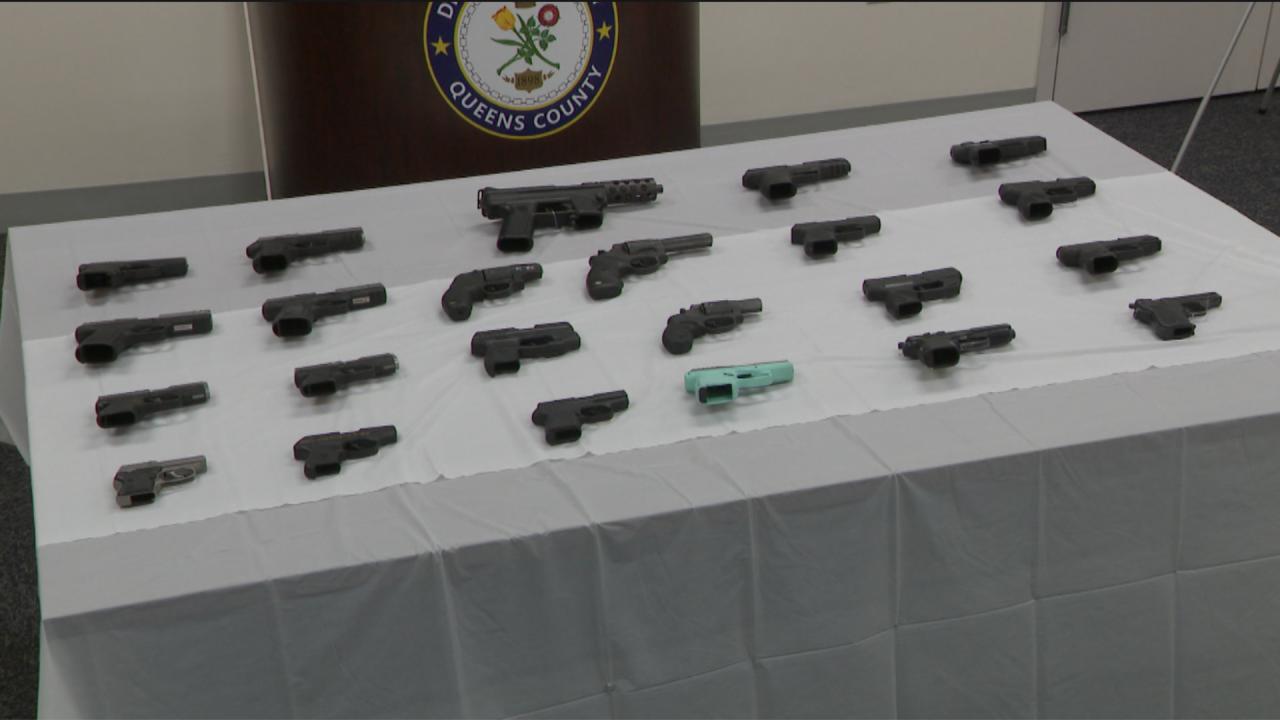 Guns seized in Queens