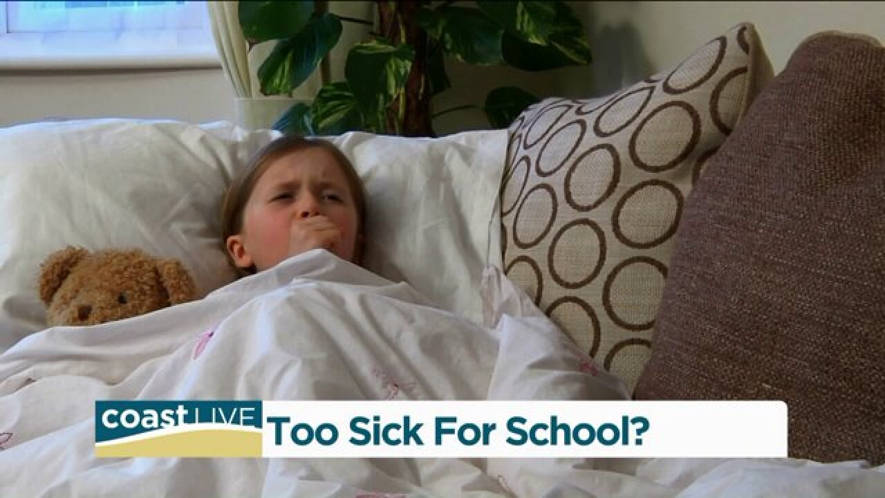 A doctor's advice on when kids should stay home from school on Coast Live