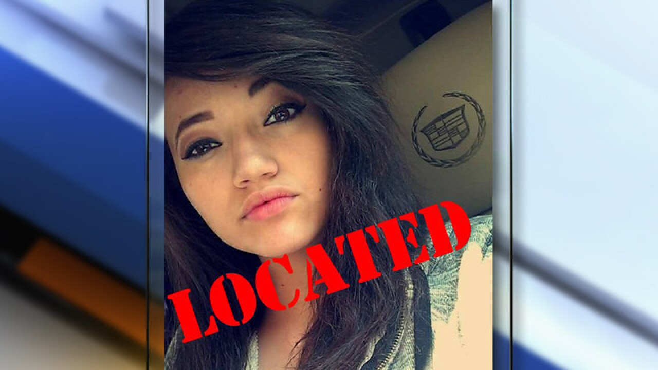 Missing Pueblo teen Gema Arias found safe