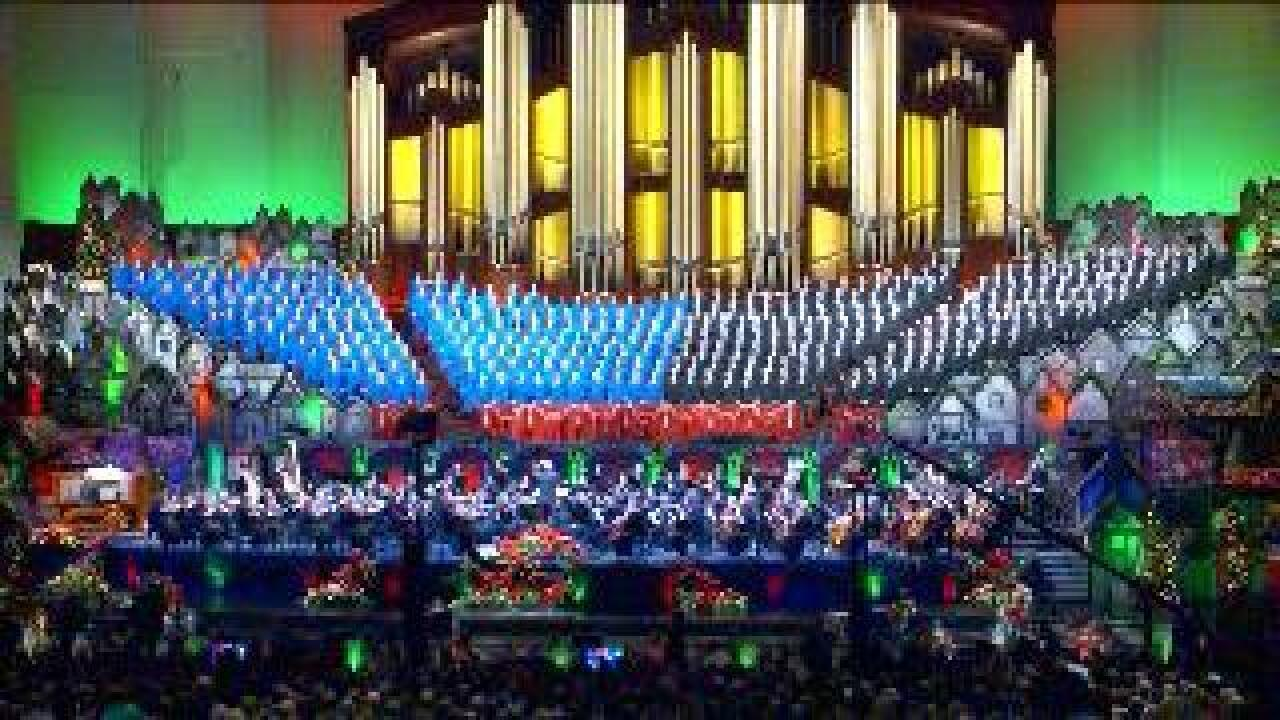 Mormon Tabernacle Choir prepares for Christmas Concert