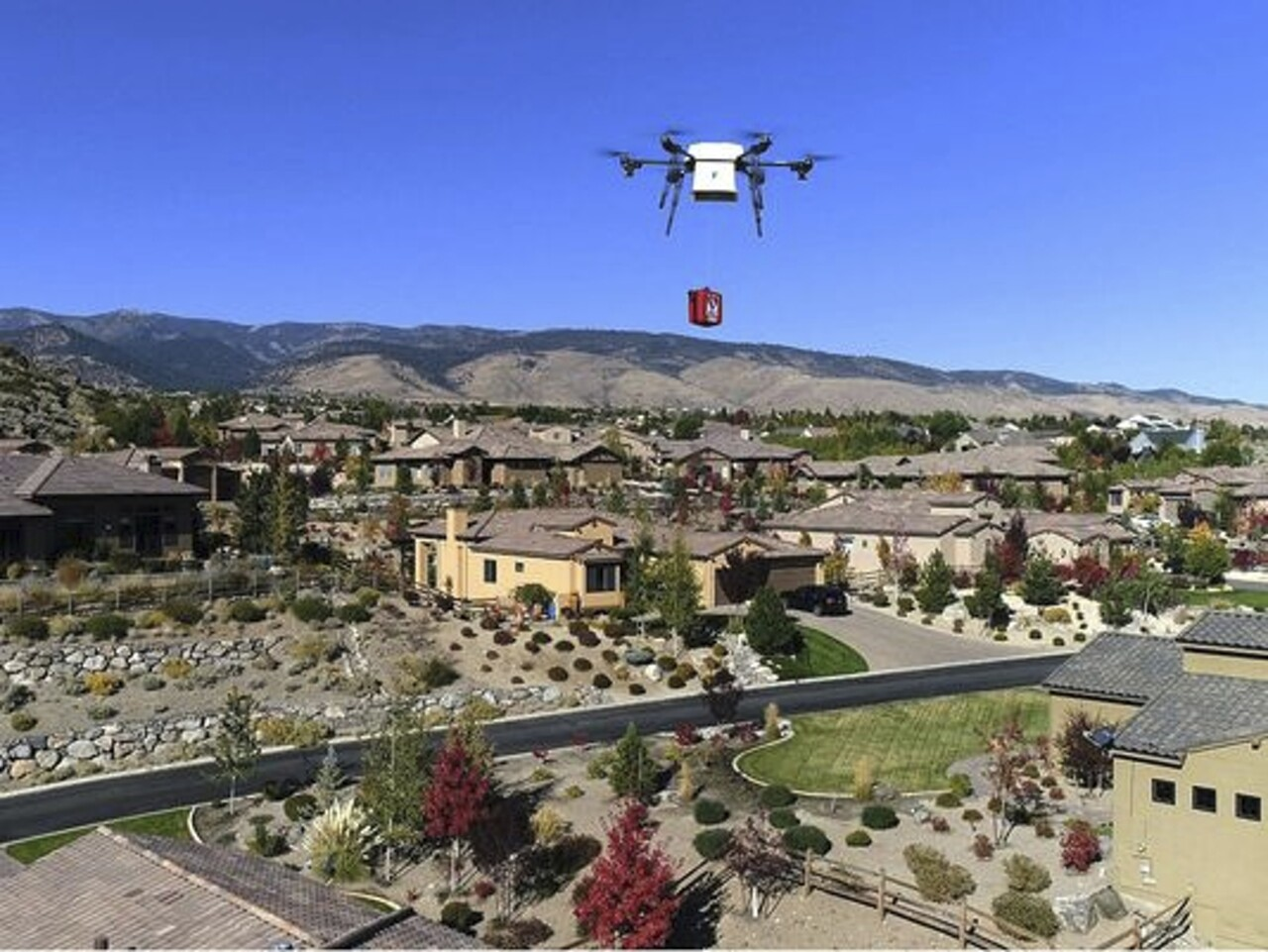 Drone Deliveries Reno
