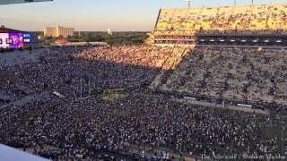 LSU fined $100K after fans rush field following win over Georgia