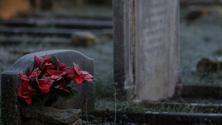 Caretaker arrested in desecration of Connecticut cemetery