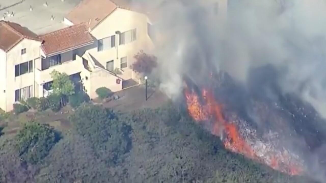 Railroad Fire grows to 5 acres in Santa Clarita