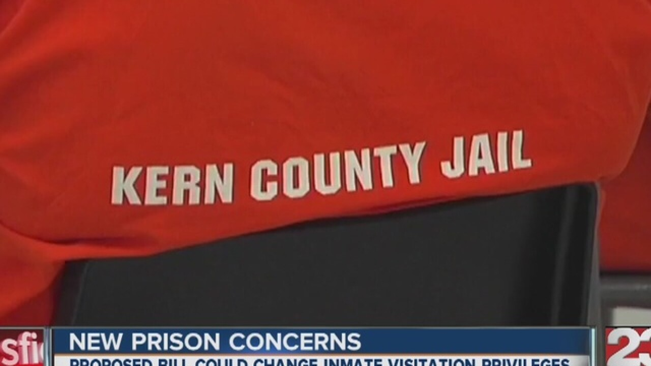 Kern County jails already have video visits for inmates but
