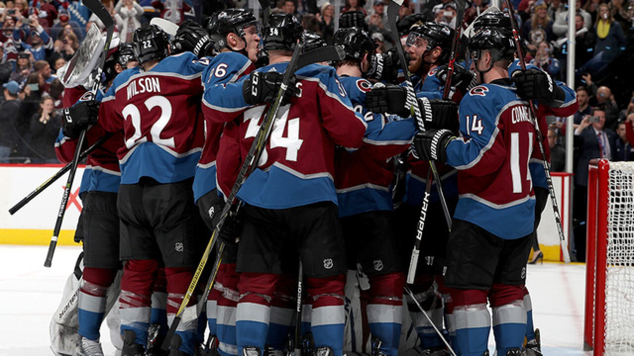 Avalanche head back to playoffs after 5-2 win over Blues; Playoff schedule announced