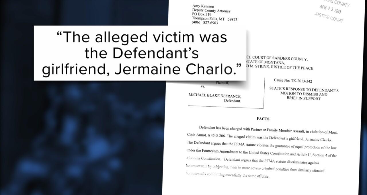2013 Partner of Family Member Assault DeFrance