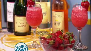How to Make a Sunset Blush Froze' - The Perfect Frozen Summer Cocktail