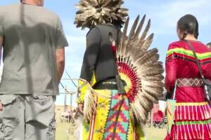 The Little Shell Chippewa Tribe celebrates with annual pow wow