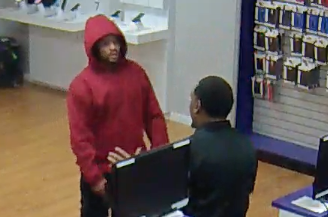 Photos: Portsmouth Police searching for two Metro PCS robbery suspects