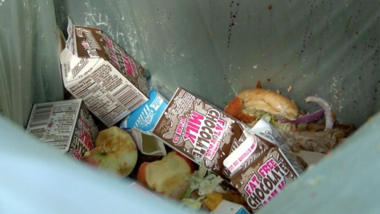 Turner High students reducing lunchroom waste