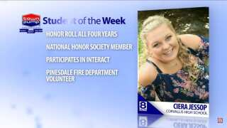 Student of the Week: Ciera Jessop