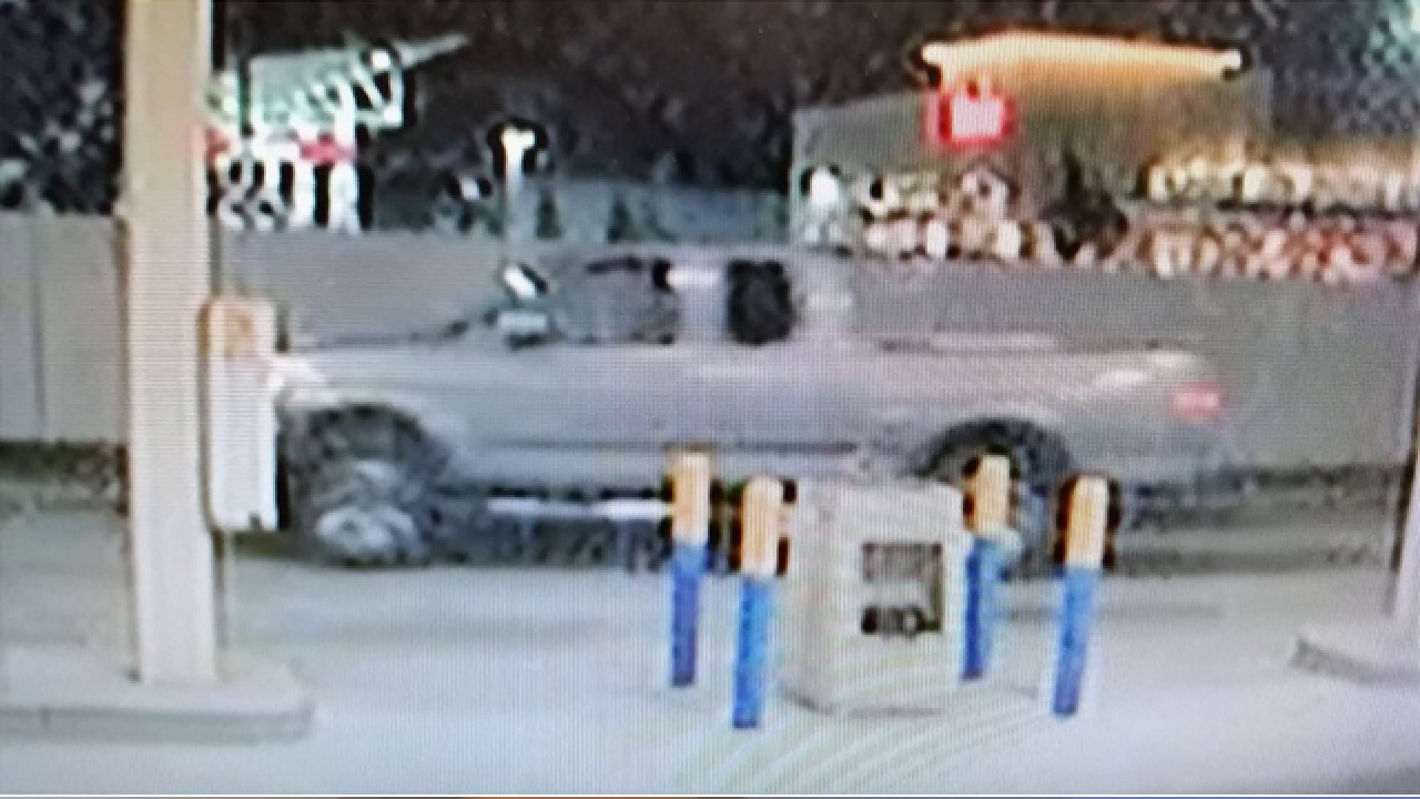 Gas station robbed, suspect had drawn-on beard