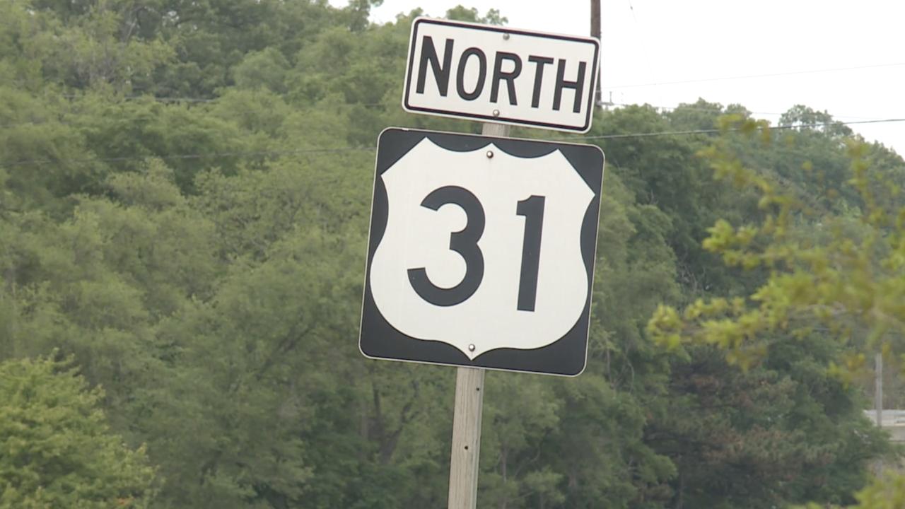 Northbound US-31