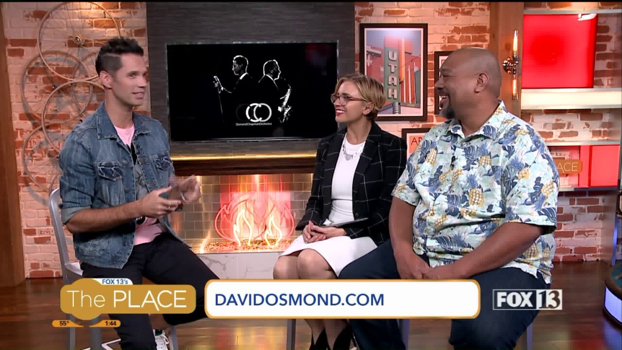 David Osmond's new musical project includes a Neon Trees member and a bigband!