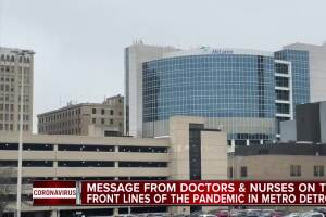Message from doctors and nurses on the front lines of the pandemic