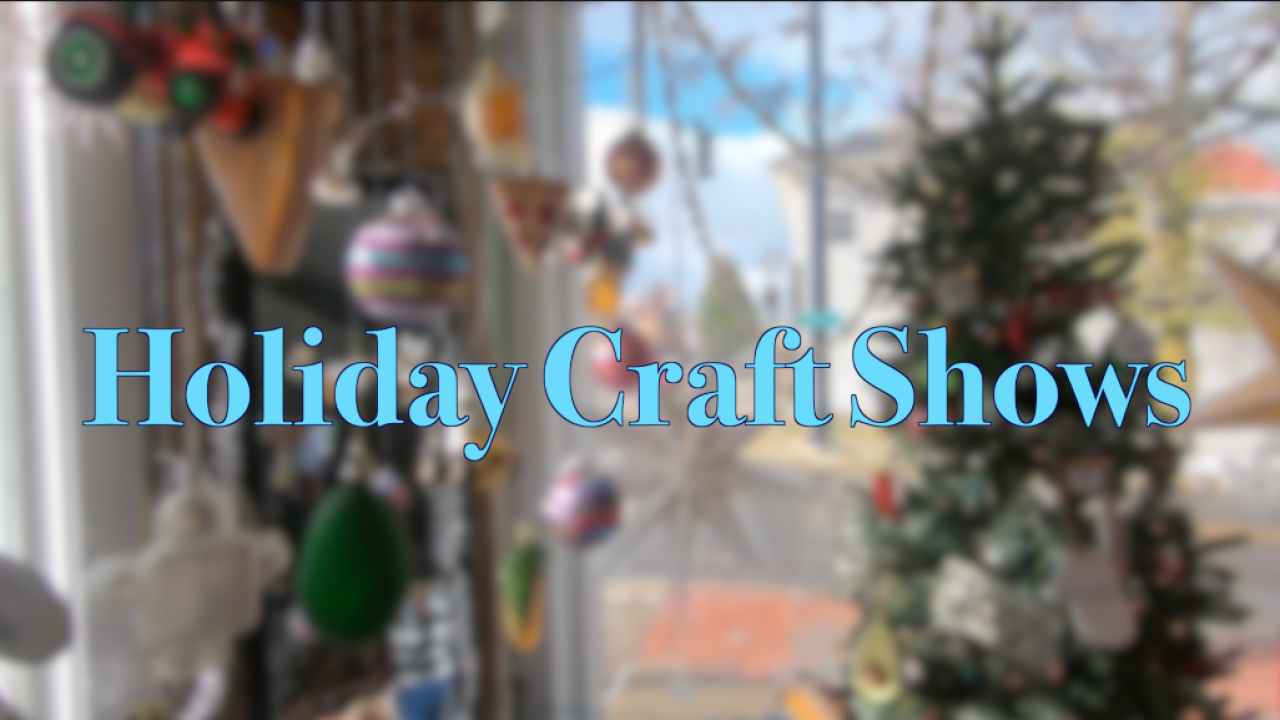 Want to shop local for the holidays? Here's our list of arts & crafts markets and fairs in WNY
