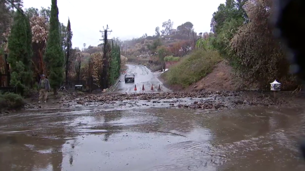 Malibu Mudslide