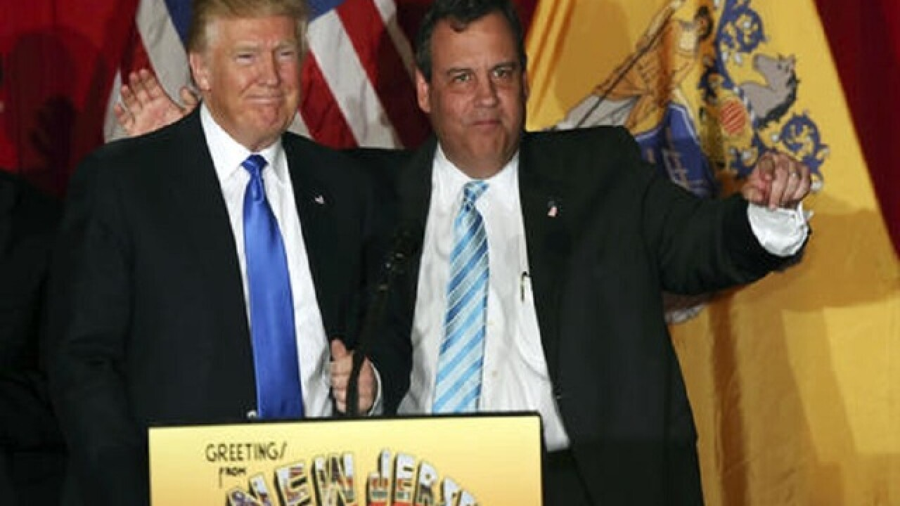 Trump helps Chris Christie pay off his campaign
