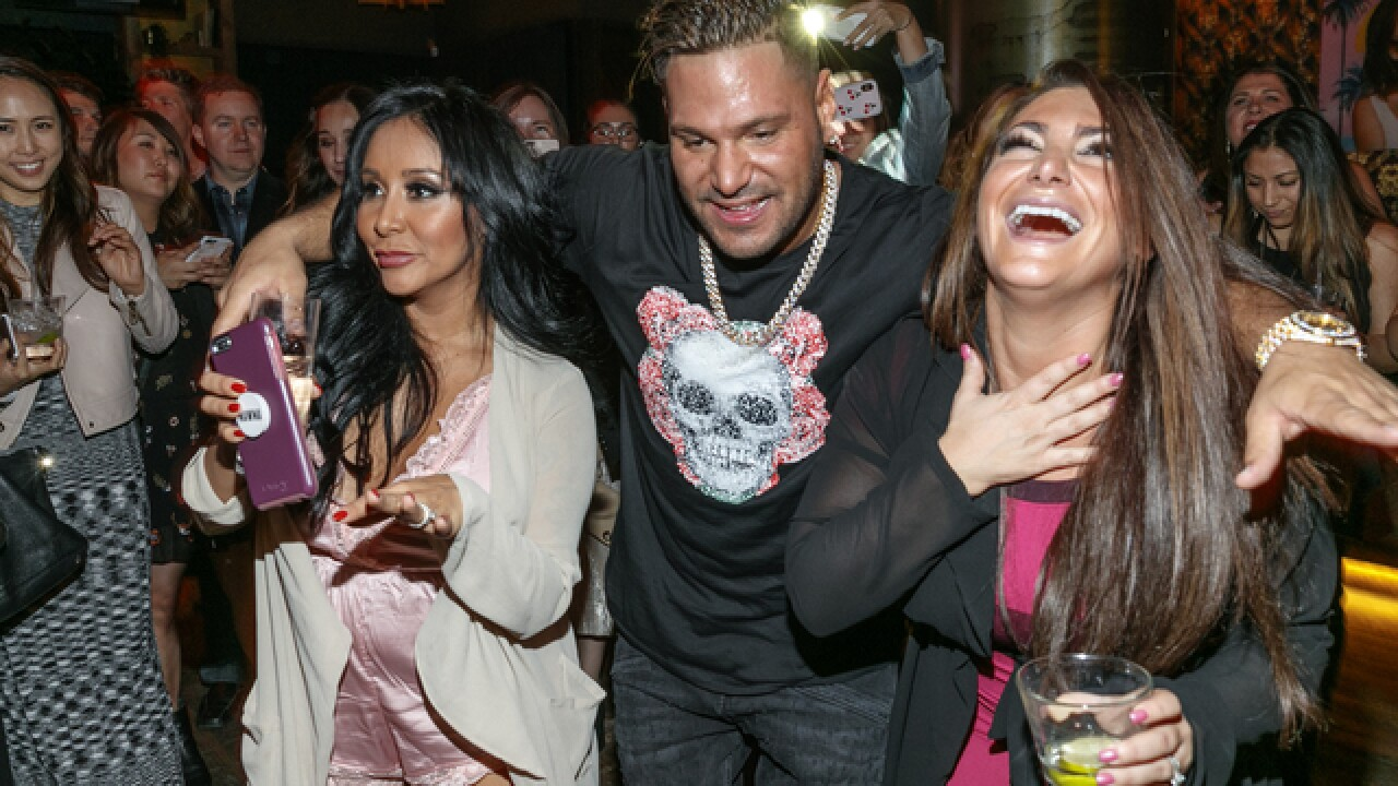'Jersey Shore' star dragged by ex's car