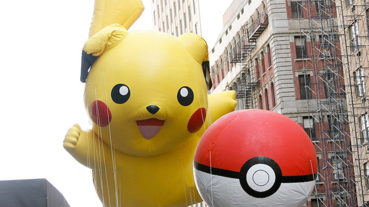 Pokemon Go used to plan robberies, police say