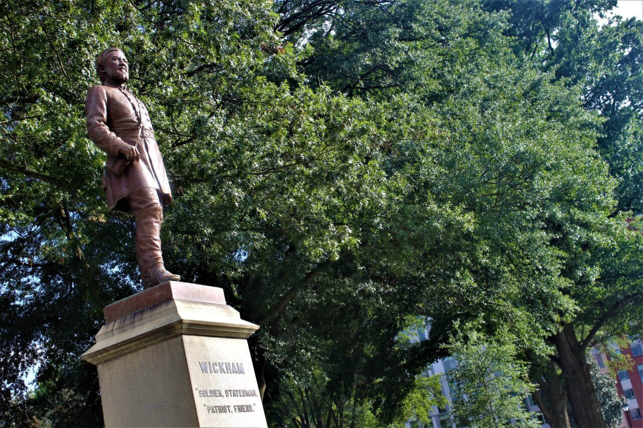 Wickham Statue September 2018 (SOURCE: George Copeland Jr. and Irena Schunn)