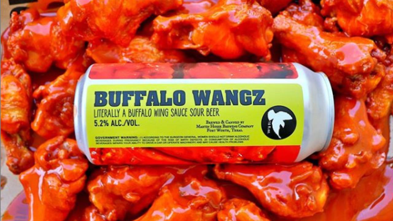 Buffalo Wangz beer