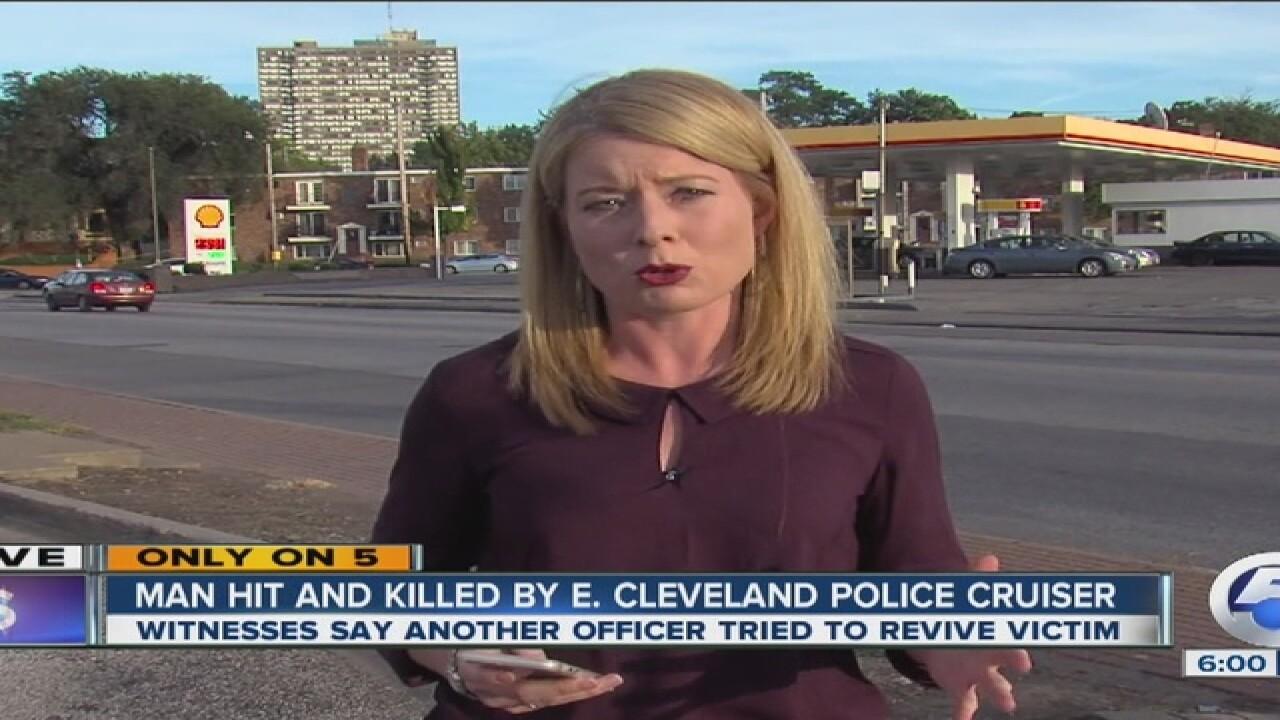 UPDATE: East CLE police cruiser hits, kills man