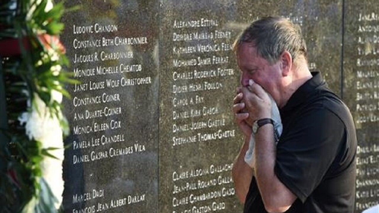 Memorial marks 20th anniversary of TWA Flight 800 crash