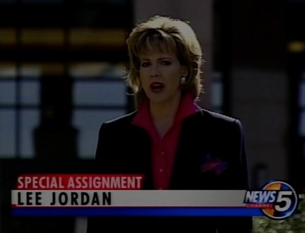 PHOTOS: News 5's Lee Jordan through the years