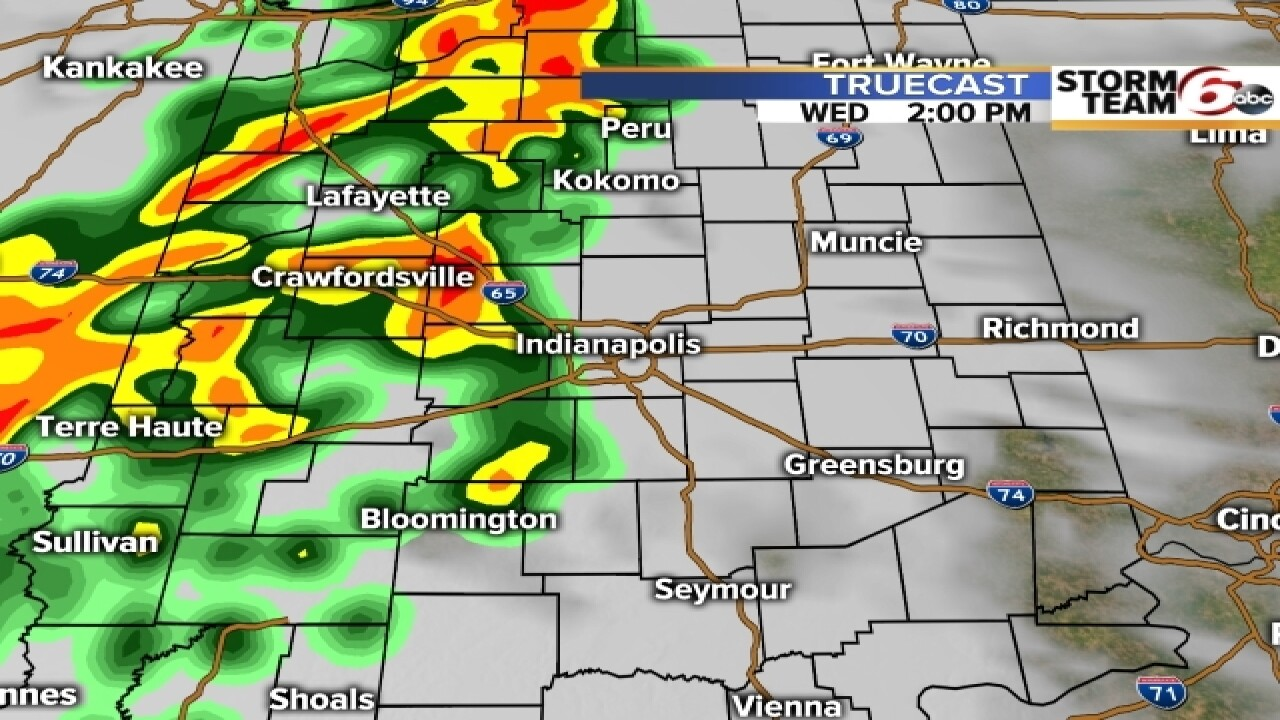 TIMELINE: When to expect severe weather