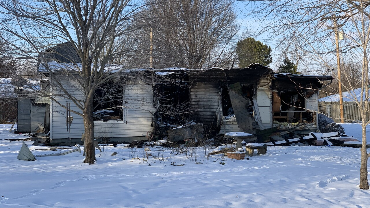 Skiatook veteran's home destroyed in fire
