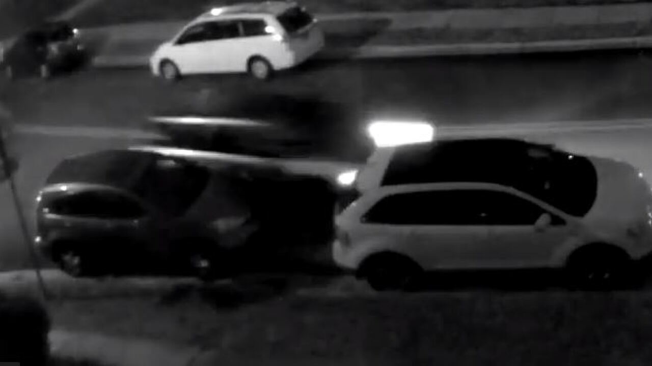 Police in search of SUV involved in hit and run caught on video