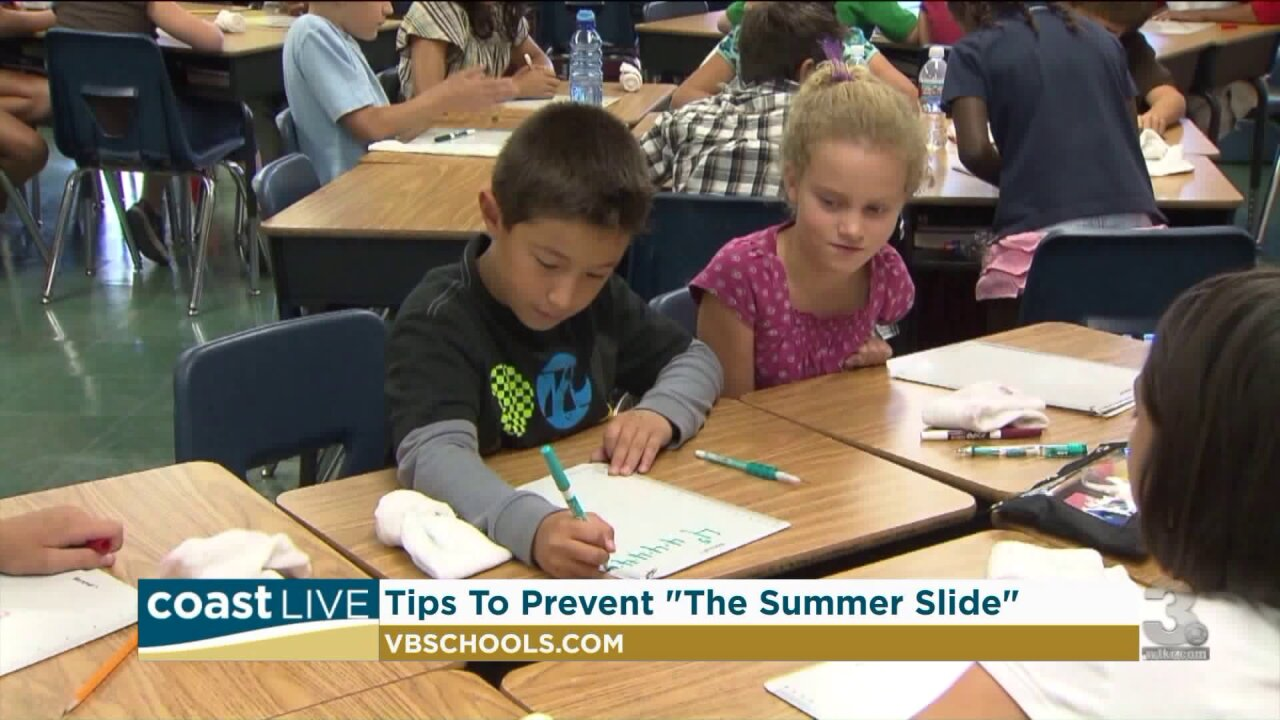 "Tips for avoiding the ""summer slide"" on Coast Live"