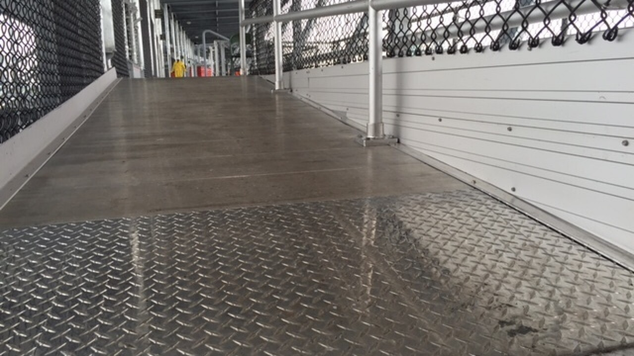 PHOTOS: New seating at IMS