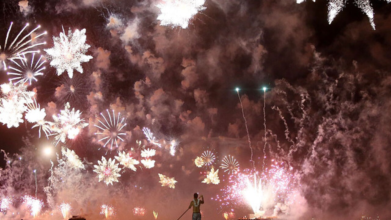 Welcome to 2015: New Year's around the world