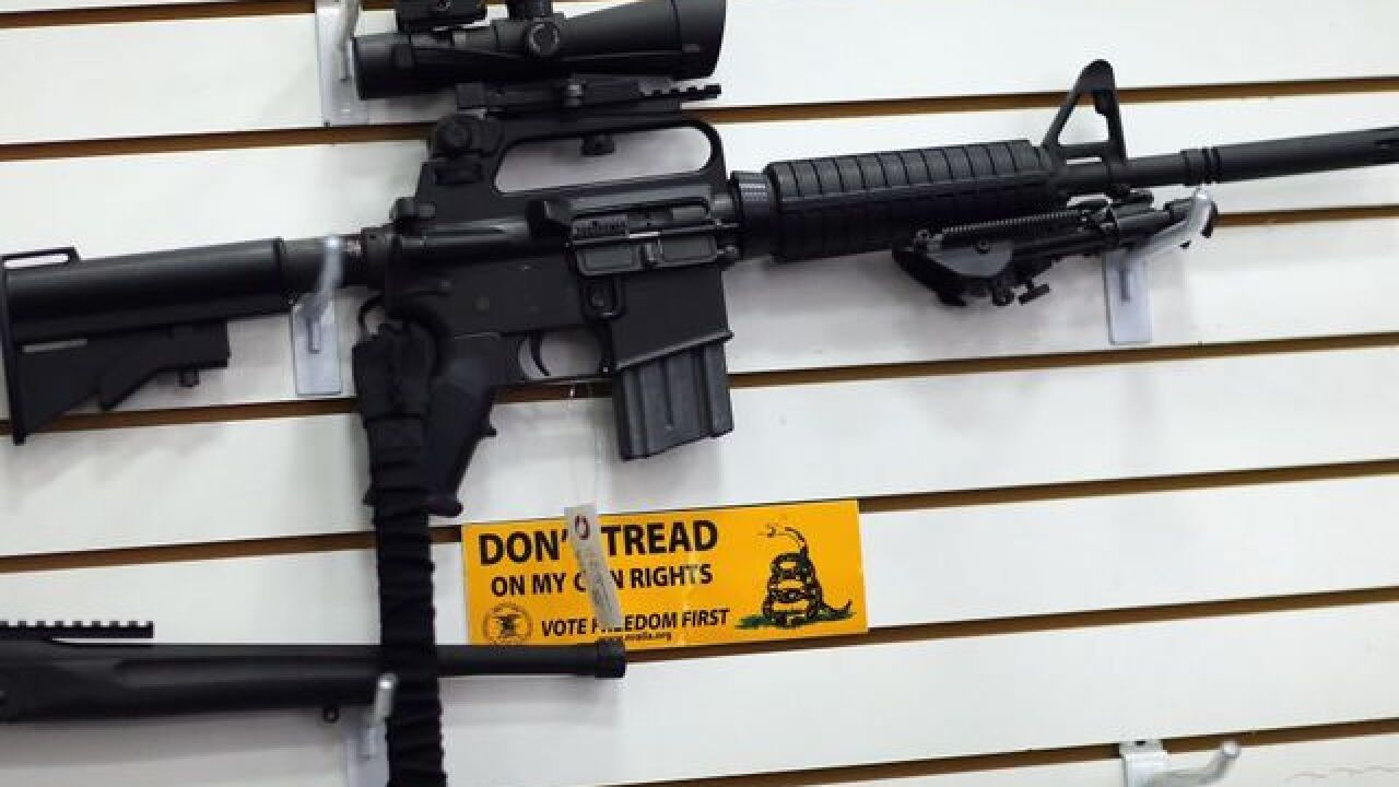 VOTE NOW: Should all gun shops stop selling assault-style